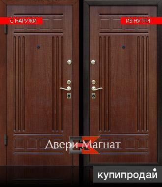 входные металлические двери шпон натуральный