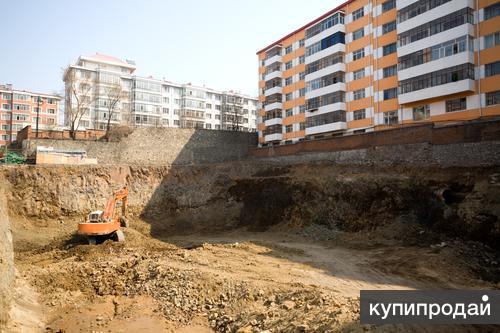 участок – 44 сотки участок уже переведен под многоэтажное строительство