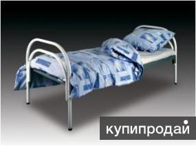 Кровати металлические для интернатов, кровати для студентов, кровати дёшево