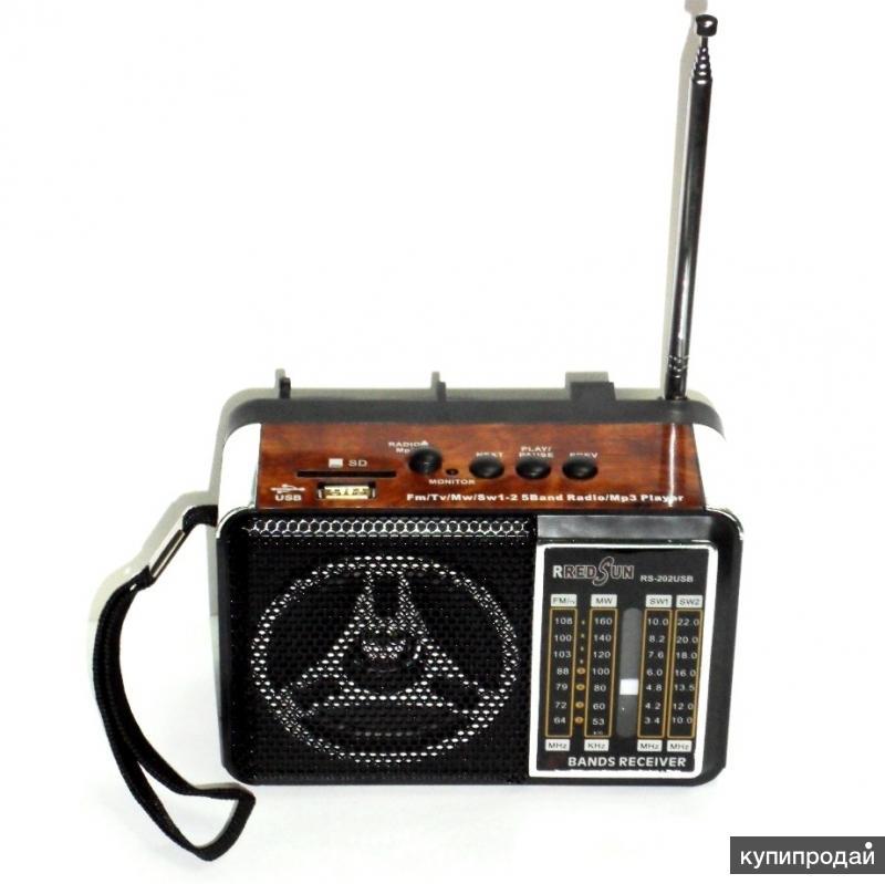Высококачественный многофункциональный компактный радиоприёмник в стиле ретро