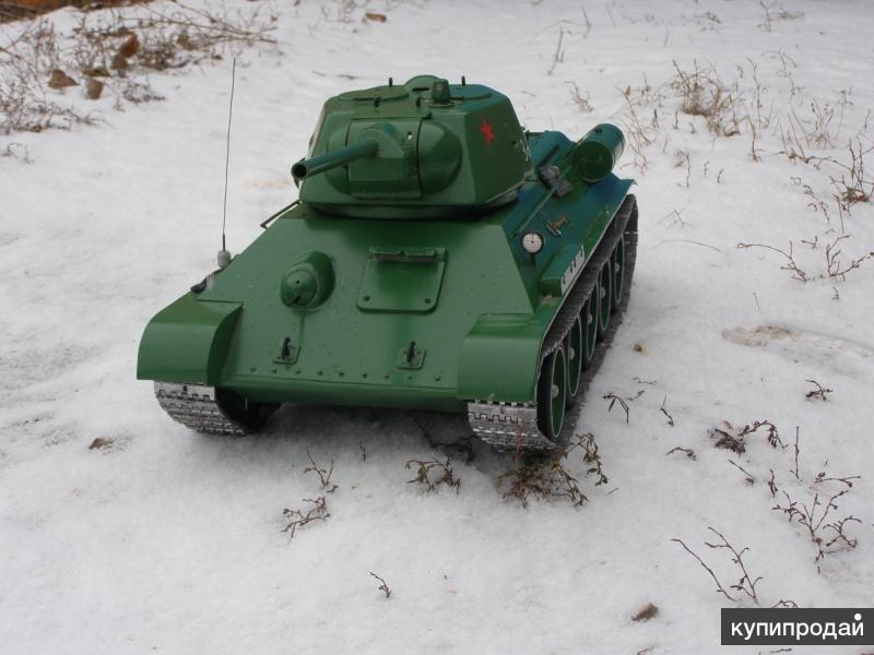 "Модель танка ""Т-34"""