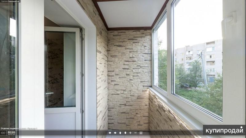 РЕМОНТ квартир , ВАННЫХ комнат .ОТДЕЛКА балконов