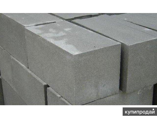 Блок пескоцементный (пескобетонный) фундаментный