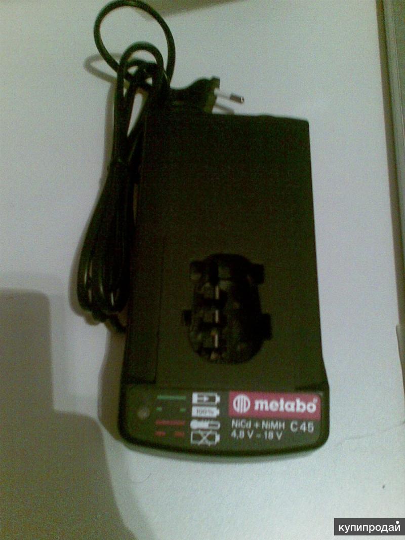 Мetabo C45 627070 зарядное устройство новое