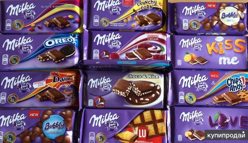Сладости и напитки из Европы оптом Oreo Milka Nutella Jelly-belly