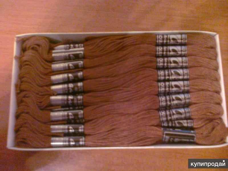Нитки мулине для рукоделия, вышивания