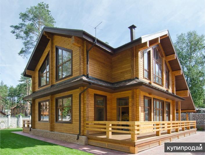 загородных домов проекты из бруса
