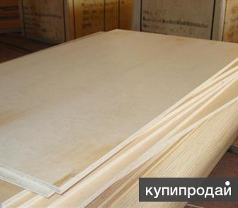 Фанера шлифованная ФК 1525*1525