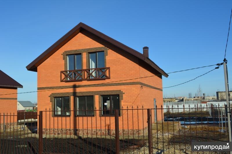 Продается новый 2-этажный коттедж на участке 10 сот, 5 км до города