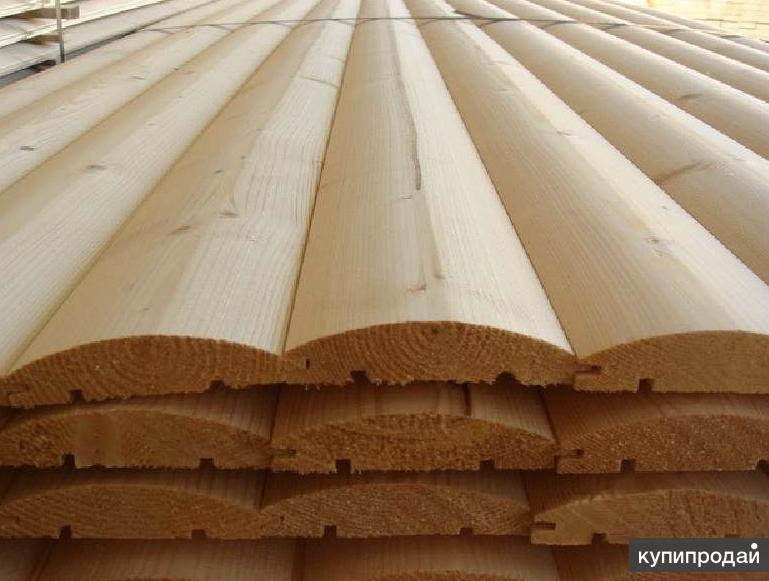 Блок Хаус 45мм*190мм  от производителя http://eco-doski.ru