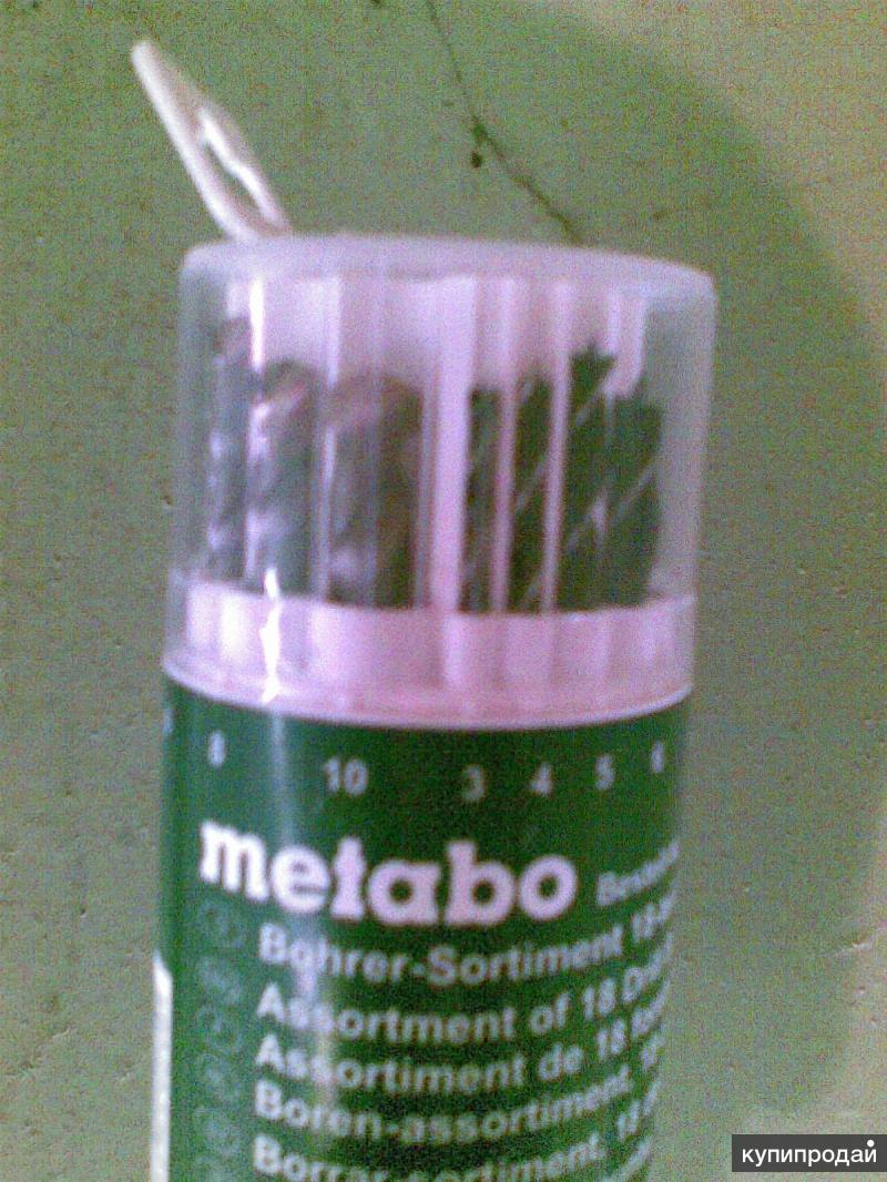 Metabo набор сверел