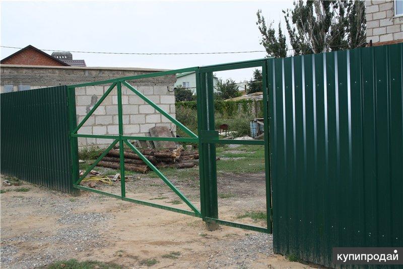 Садовые металлические ворота от производителя