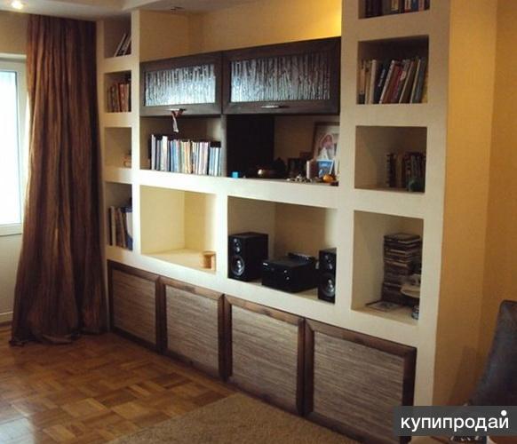 Шкафы И стенки из гипсоплиты