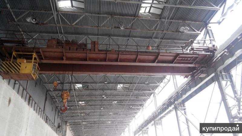 Кран мостовой  г/п 50/12,5 тн., пролет 22,5 м.