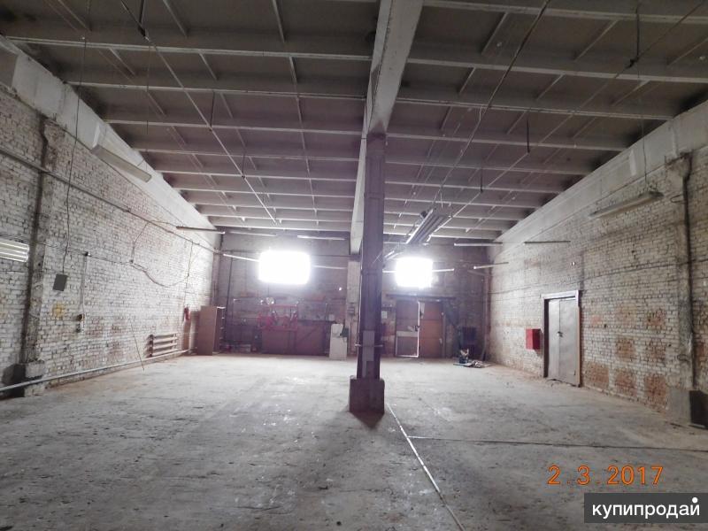 помещение 274 кв м в аренду под склад, производство