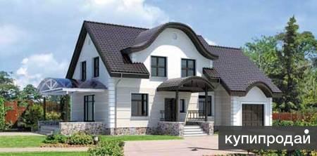 Дом из кирпича 10,5 х 15,5. Площадью: 198,6 м2