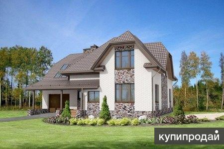 Кирпичный дом 14 х 15. Площадью: 229,7 м2