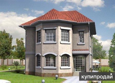 Кирпичный дом 10х12. Площадью: 197,9 м2