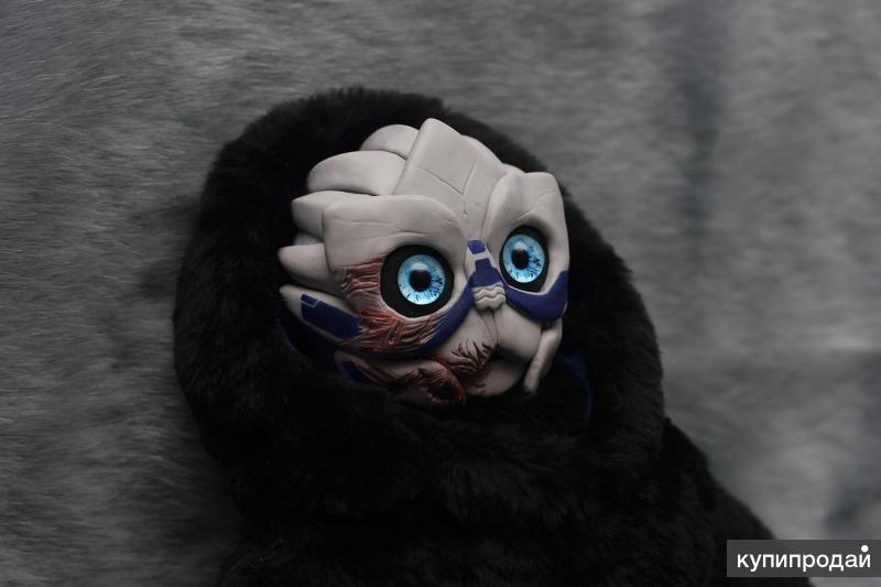 Mass Effect игрушка турианец Гаррус