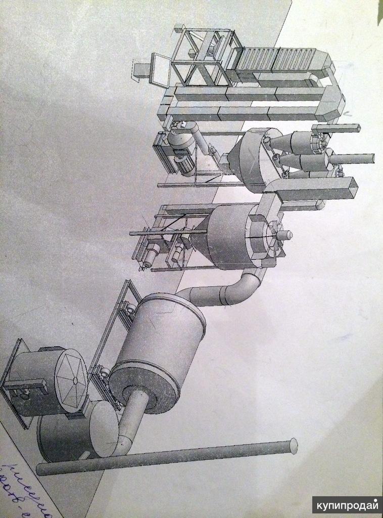 Продажа завода по производству гранул (пеллет)