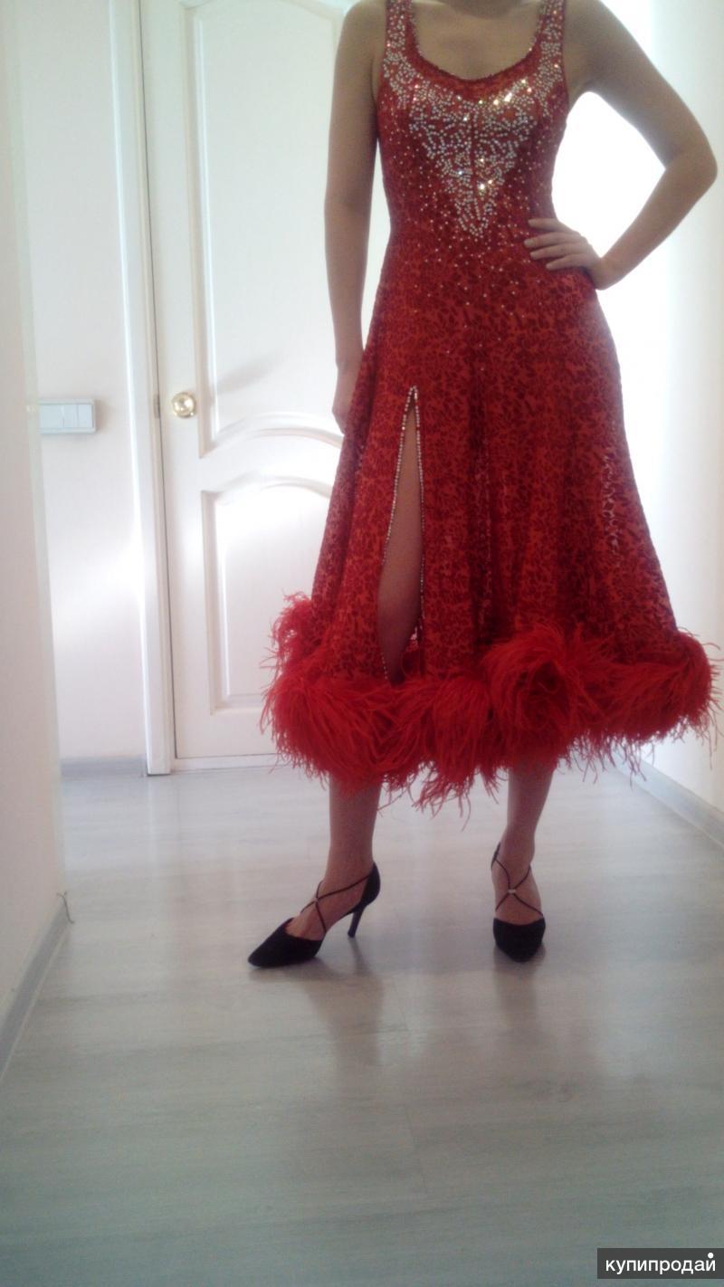 Продам платье для спортивных бальных танцев