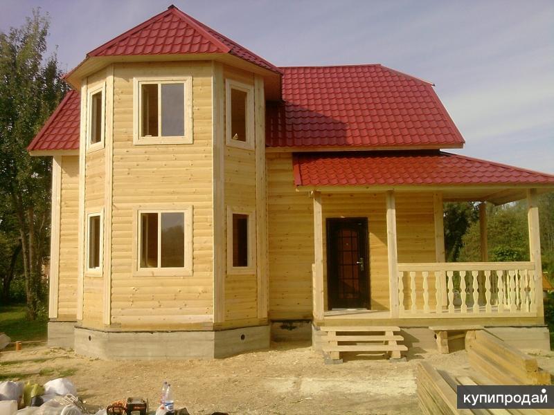 Строительство домов и бань.