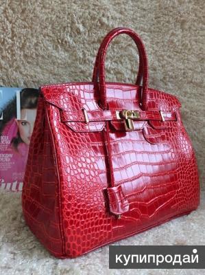 Гермес красная сумки