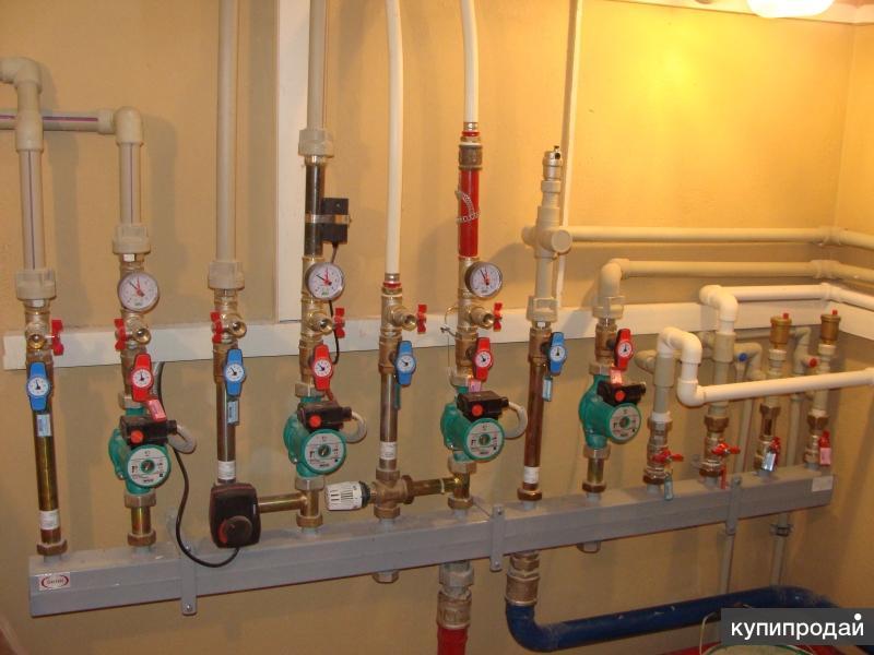 Отопление дома с умным погодо-зависимым регулированием.