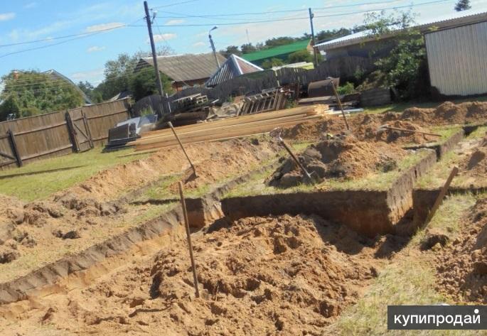 Профессионально  необходимые земляные работы выполним