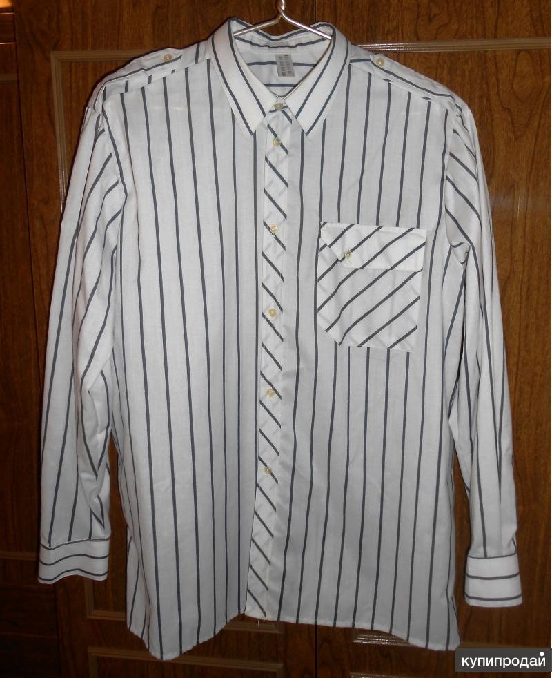 Рубашка в полоску новая