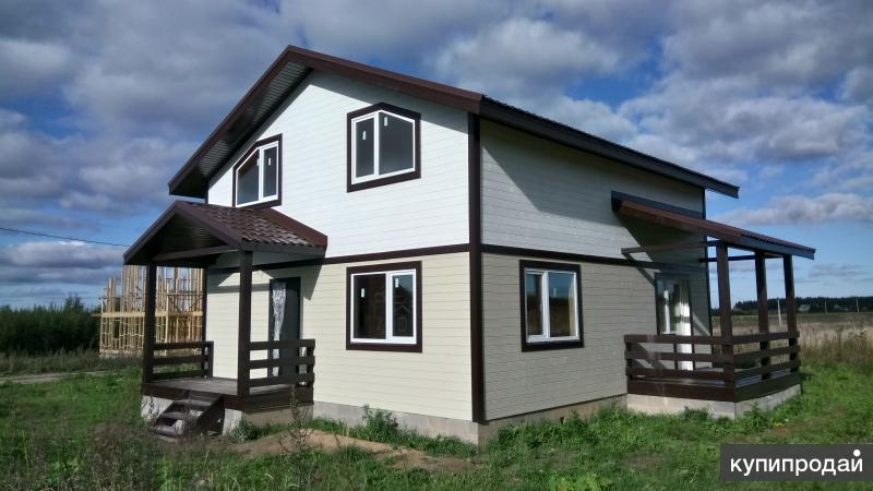 Комфортабельный двухэтажный дом вблизи озера Плещеево