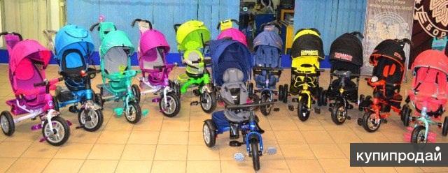 Детский велосипед Trike и Bentley