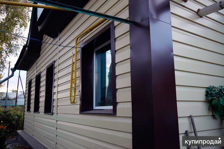 Отделка фасада Пенза монтаж сайдинга, панелей под ключ