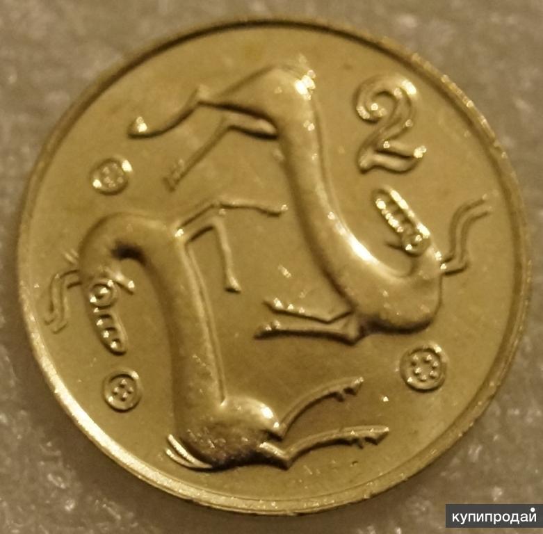 2 цента 1994 Кипр