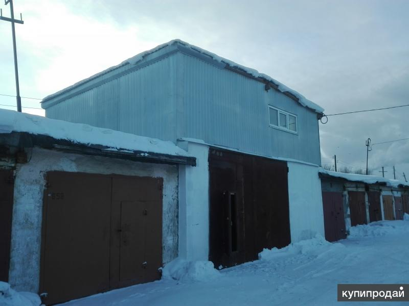Продам двухэтажный гараж 96м2
