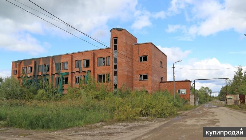Здание незавершенного строительства
