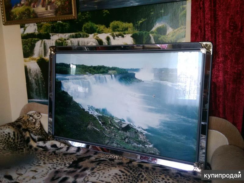 Фото картина водопад из Пуссана,
