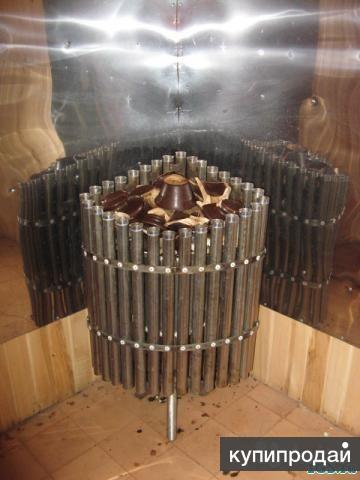 Печь для сауны безтеновая на 40 вольт.