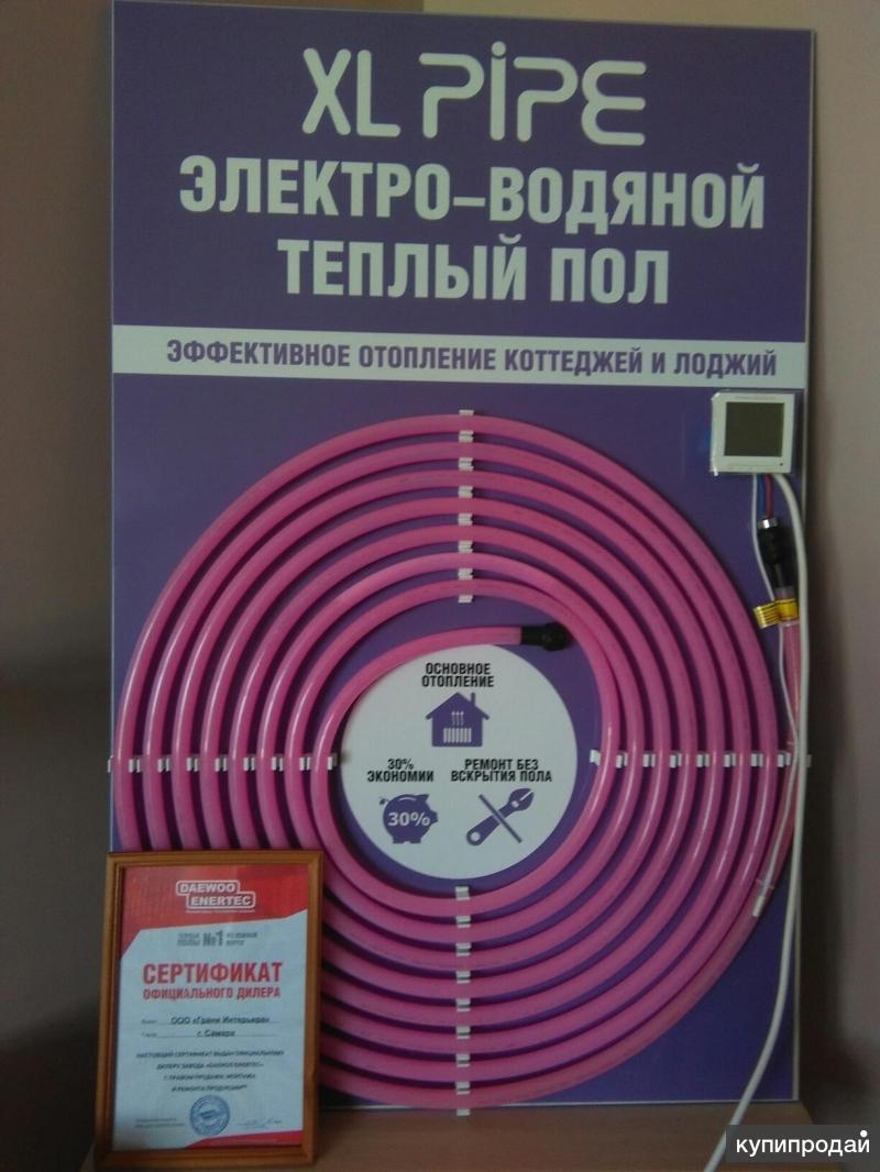 Отопление домов и лоджий системой XL PIPE