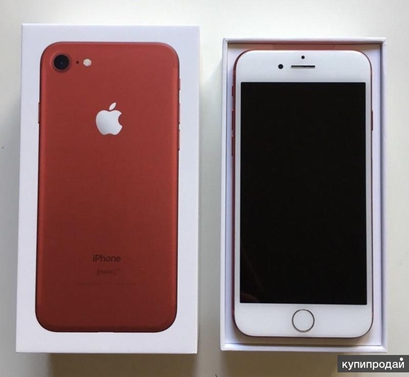 Apple iPhone 7 (Красный), 7Plus