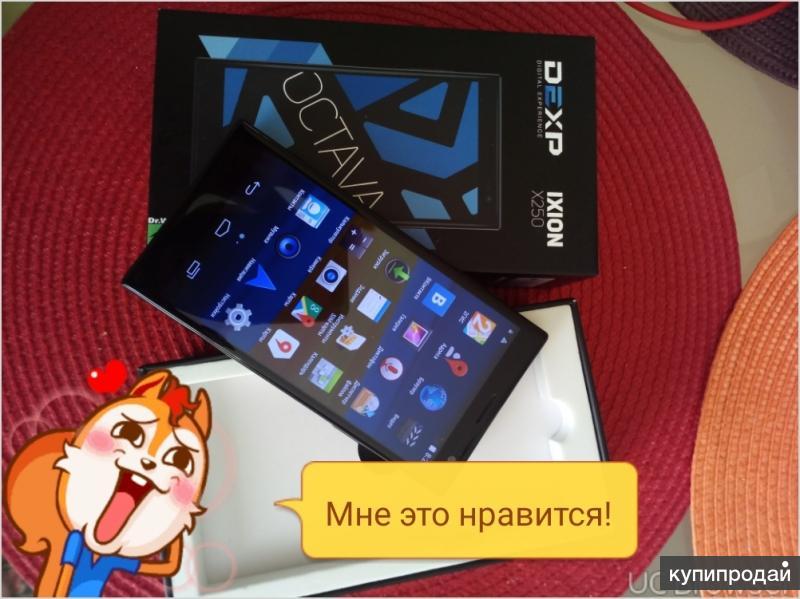смартфон Dexp x250 oktava