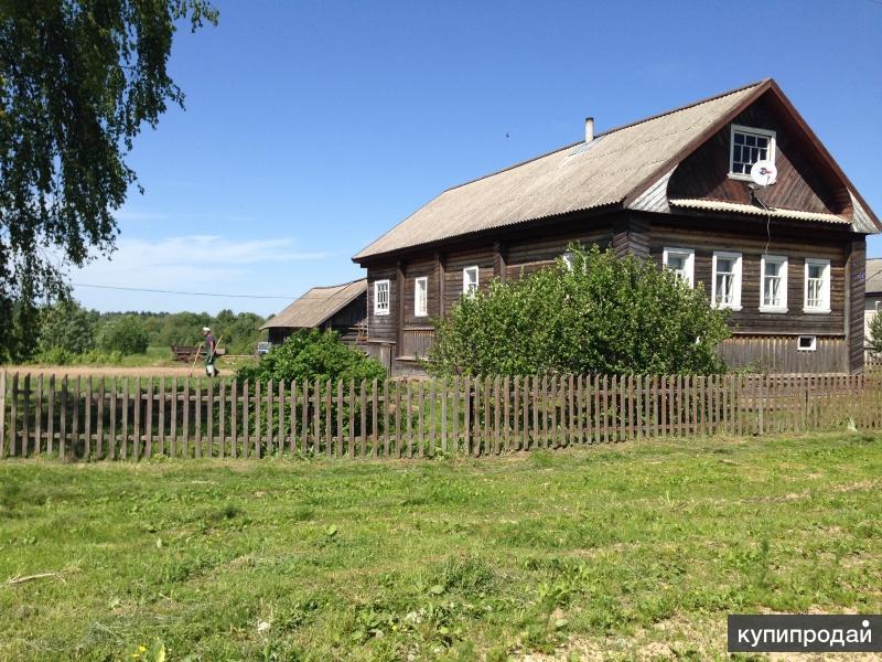 Дом 100 м2 земля 42 сотки