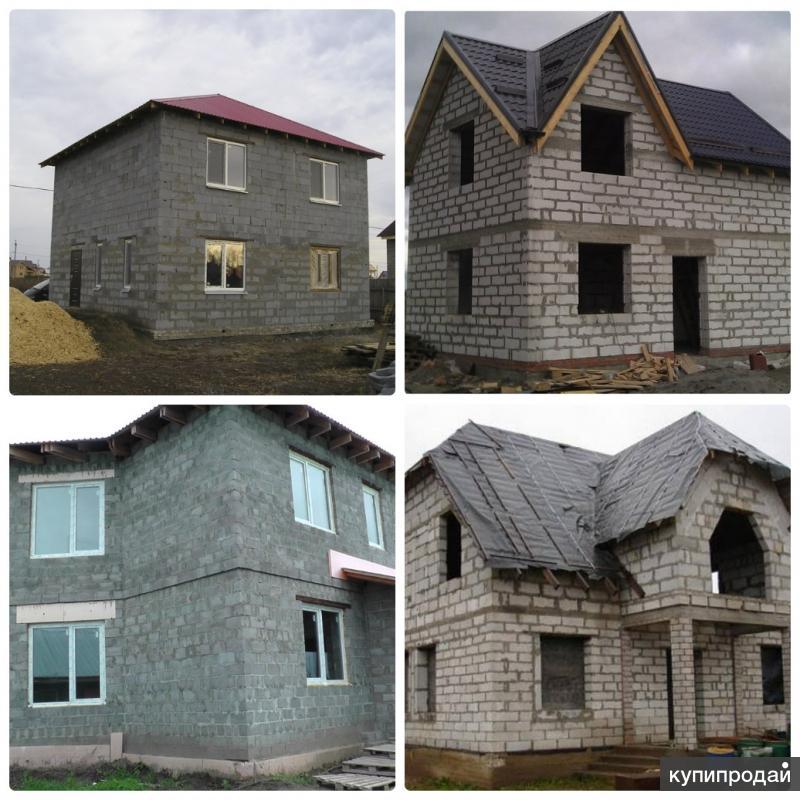 Частная строительная бригада из Пушкино