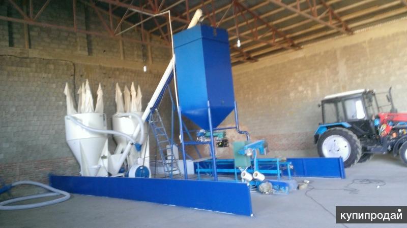 Мини-комбикормовый завод