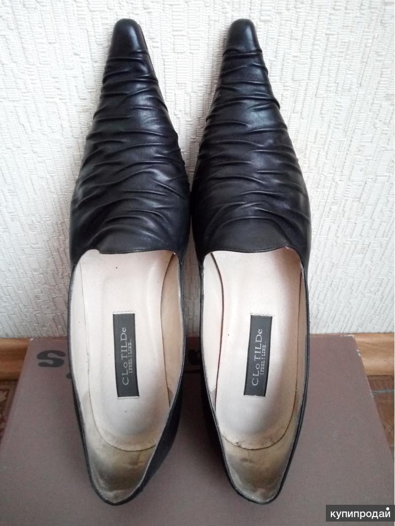 Туфли женские натуральная кожа р.38