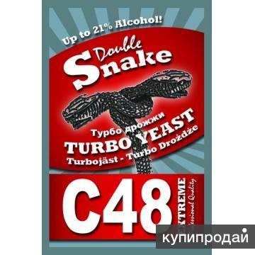 Спиртовые дрожжи Double snake С 24 48 на правом берегу Красноярска