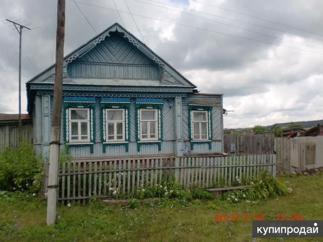 Дом 55 м2 жилой, деревянный