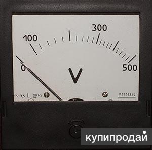 Амперметры, вольтметры Э-365, Э-377, Э-378
