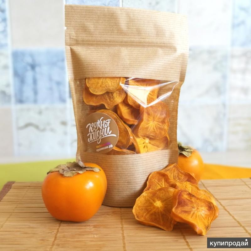 Вкуснейшие чипсы из плодов хурмы
