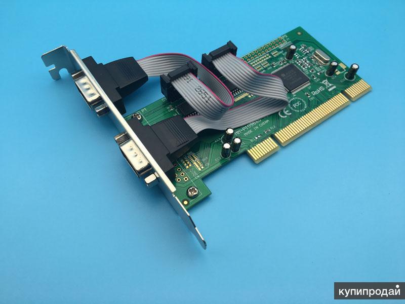 2159391 PCI RS-232 CARD 2хСОМ порта in oil